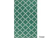 Hand-woven Villach Flatweave Wool Rug (9' x 13')