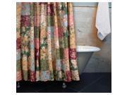 Antique Chic Patchwork Shower Curtain