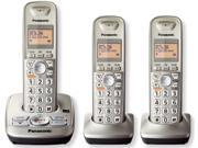 Panasonic KX-TG4223N 1.9 GHz DECT 6.0 Expandable Digital Cordless Answering Machine Phone System wtih 3X Handsets