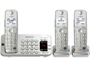 Panasonic KX-TGE273S DECT 6.0 Expandable Digital Cordless Answering System with 3 handsets