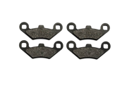 2002 Polaris 500 ATV Pro 4x4 PPS Semi Metallic Front Brake Pads
