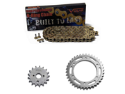 1997-2000 Suzuki TL1000S O-Ring Chain and Sprocket Kit - Gold