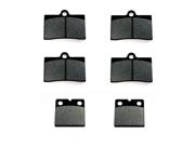 2009-2011 Indian Chief Vintage (Brembo) Kevlar Carbon Front & Rear Brake Pads