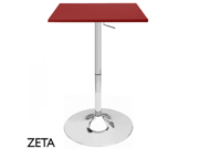 """NEW! CONTEMPORARY SQUARE ADJUSTABLE BAR STOOL PUB TABLE - ADJUSTING HEIGHT 24"""""""