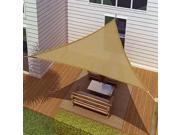 California Sun Sail Shade Triangle (18' Sides) - Beige