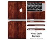 "EXOSkin Protective Vinyl Skin For Apple MacBook Pro 15"" (Wood Grain Bubinga)"