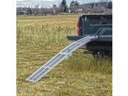 "Yutrax TX106 Aluminum 89"" Heavy Duty Folding Truck Utility Ramp (Single)"