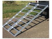 "Yutrax TX102 Aluminum 70"" Lightweight Heavy Duty Bi-Fold Truck Utility Ramp"
