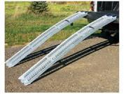 "Yutrax TX138 Aluminum 83"" Lightweight Heavy Duty Arching Truck Utility Ramp"