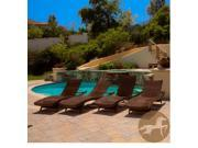 Christopher Knight Home Toscana Outdoor Lounge Set of 4