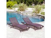 Christopher knight Home Kauai Textilene Chaise Lounge (Set of 2)