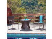 Christopher Knight Home Rodolfo Wicker Outdoor Set - Multi-brown