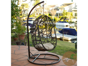 Egg-Shaped Swing Chair