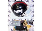 Lawrence Taylor Autographed Hand Signed Giants Mini Helmet - PSA/DNA