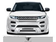 Aero Function FRP  Land Rover Range Rover Evoque AF-1 Front Add On Spoiler (GFK) - 2 Piece > 2012-2013