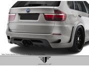 Aero Function FRP  BMW X5 X5M E70 AF-1 Wide Body Rear Bumper Cover (GFK) - 1 Piece > 2010-2013