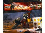 LEGO Super Heroes Guardians of the Galaxy Rocket Raccoon Minifigure - Toys R Us Exclusive