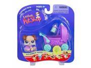 Littlest Pet Shop Puppy with Baby Carriage #143