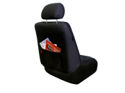 FH Group FH-FB060102 Premium Fabric Car Seat Covers Front Bucket Covers Airbag Safe - Black