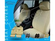 Deluxe Leatherette Seat Covers Airbag Ready & Split Rear W. 4 Headrests