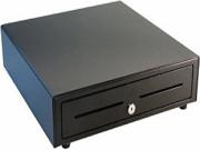 APG VB484A-BL1616 Cash Drawer Vasario 1616 Cash Drawer VASARIO 16X16 BLK SERIAL 5BILL 5COIN TILL