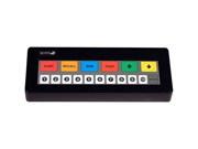 Bematech KB1700B-BK-RJRJ KB1700 17 Key Programmable Keypad (Bump Bar)