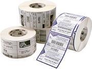 "Zebra 10011709 Label Polyester  3"" Width X 1"" Length - 4 / Carton - Rectangle - 5240/Roll - 3"" Core"
