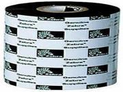 Zebra 03200Bk08045 Wax/Resin Ribbon 3.15- X 1476' 6 Rolls Per Inner Case
