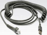 Motorola Cba-U09-C15Zar Cable Universal Style Usb 15' Coiled