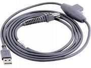 Datalogic 90A051902 Cab-412 Usb Type A, Opt-Pwr, S Straight, 2 Meters