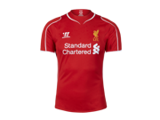 Men's 2014/15 Liverpool Red Home Soccer Jersey (US Size Medium)
