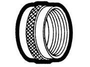 """Holyoke 1057B Brass Garden Hose Cap, 3/4"""""""