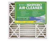 """Flanders Precisionaire 82655 Synthetic Media Kraft Board Frame High Efficiency Air Cleaner, 20"""" x 25"""" x 5"""""""