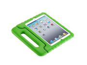 For  iPad 5/ iPad air Kids Safe Thick Foam Shock Proof Case Handle Cover- Green