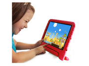 Red Safe Children Kids Shock Proof Foam Cover Case Handle For iPad Mini 1 2
