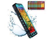 Blue Premium Waterproof Shockproof Dirt Snow Proof Durable Hard Case Cover For Samsung Galaxy Note 3 III N9000