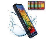 Deep Blue Premium Waterproof Shockproof Dirt Snow Proof Durable Hard Case Cover For Samsung Galaxy Note 3 III N9000