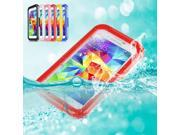 Victsing 486117 Premium Durable Protective Case Cover For Samsung Galaxy S5 - Waterproof Shockproof Dirt Snow Proof (Red)