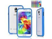 Deep Blue Luxury Ultra Thin Aluminum Alloy Metal Frame Bumper Case Protective Cover for Samsung Galaxy S5 SV V i9600