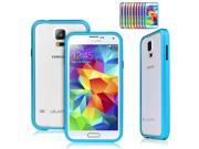 Sky Blue Luxury Ultra Thin Aluminum Alloy Metal Frame Bumper Case Protective Cover for Samsung Galaxy S5 SV V i9600
