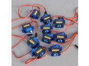 10 PCS Micro Small Servo Motor SG90 9G RC Robot/Helicopter/Airplane controls for Arduino 2560 UNO R3 AVR A049