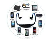 Blue Sports Wireless Bluetooth Headset Earphone Headphone with Microphone For iPhone 5 5G 5th 5S 5C
