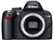 Nikon D3000 10.2MP Digital SLR Camera Body Only [CD-ROM
