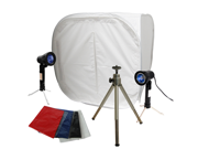 LoadStone Studio Portable Photography Table Top Collapsible Photo Box Lighting Kit
