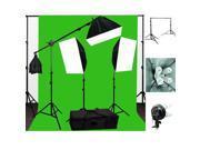 LoadStone Studio Photo Photo Lighting 3 Softbox Kit Background Light Kit LTG1602