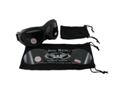 Big Ben Kit Interchangeable Lens Kit Motorcycle Goggles, Matte Black Frame and One Clear Lens and One Smoke Lens
