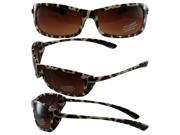 Birdz Catbird Womens Fashion Riding Sunglasses Leopard Frame