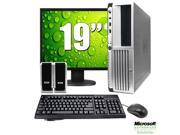 "HP 19"" LCD Desktop Computer Package - Dual Core 2GB Memory, 80GB, Windows 7 Home Premium, Keyboard, Mouse, Speakers (1 Year Warranty)"