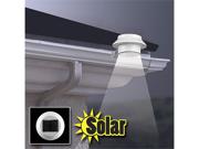2-Pack Rethink Solar Weather-Resistant LED Lights for Gutters, Walls or Posts!