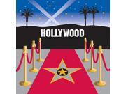 Reel Hollywood Lunch Napkins (16) - Multi-colored